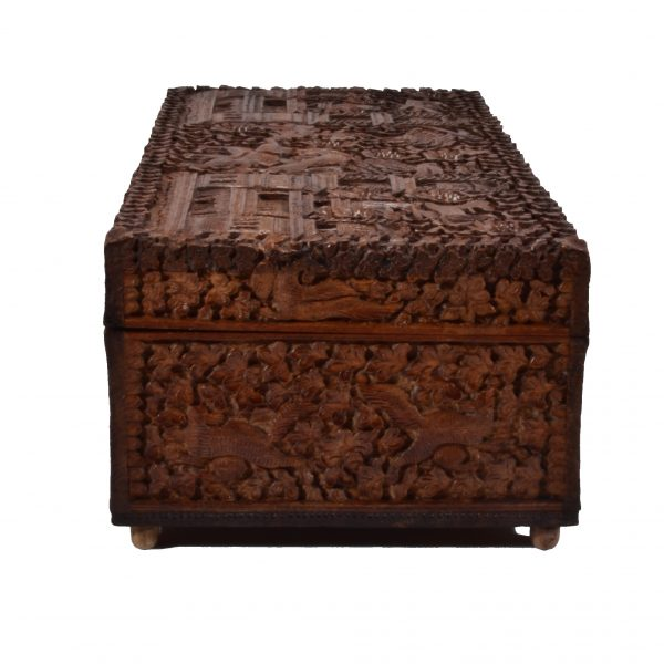 antique-anglo-indian-carved-wooden-box-tiger-elephant-palaces-birds-DSC_0512a