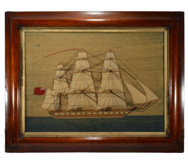 antique-sailors-woolwork-picture-warship-woolie-british-DSC_0745